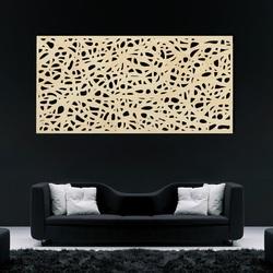 Drevený obraz na stenu z preglejky Topoľ FOLK
