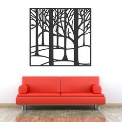 Obraz na stenu vyrezávaný z drevenej preglejky Topoľ LUBELA STROM