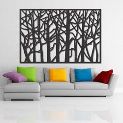Wandmalerei aus Holz Sperrholz HOREHOR