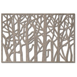 Obraz na stenu z drevenej preglejky topoľ HOREHOR
