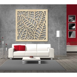 Obraz na stenu vyrezávaný z drevenej preglejky Topoľ PAPRADNOO
