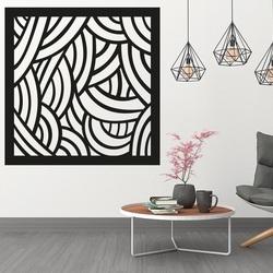 A fal képe egy hálószobában faragott rétegelt lemez PAPAGACI