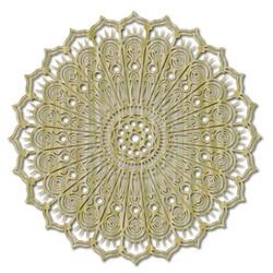 Mandala květ klidu dřevěný obraz na stěnu z překližky SILVIA
