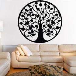 Dekoráció a falon egy bőséges fa kép rétegelt lemez FORTUNE