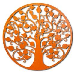 Dekorácia na stenu strom hojnosti drevený obraz z preglejky HOJNOST