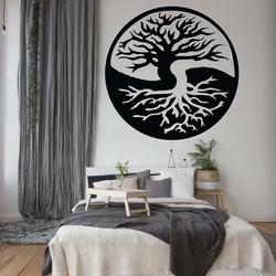 Obraz na stenu strom z drevenej preglejky  ROVNOVÁHA