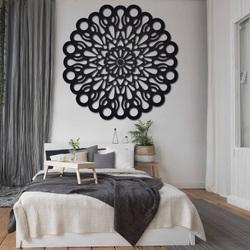 STYLESA drevený obraz na stenu z preglejky ORFEA PR0224 čierny