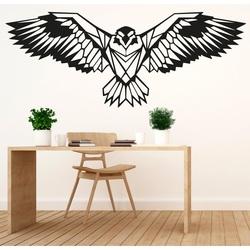 SENTOP lemn sculptat poza vultur PR0233 negru