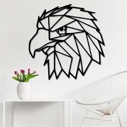 STYLESA Vyrezávaný obraz na stenu geometrické tvary orol PR0234 čierny