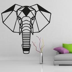 XMOMO Vyrezávaný obraz na stenu slon PR0237 čierny