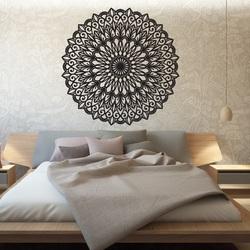 Stylesa - Vyrezávaný kvet mandala drevený obraz na stenu z preglejky HEDGO  PR0251