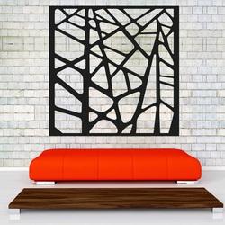 Faragott fa kép egy falra, rétegelt lemez dísz