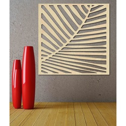 Carved Wooden Wall Image from plywood HRKEL