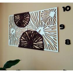 Vyrezávaný obraz na stenu z drevenej preglejky farba originál topoľ / hnedý PAKINGG