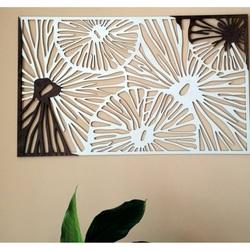 Vyrezávaný obraz na stenu z drevenej preglejky farba originál topoľ / hnedý FORGHF