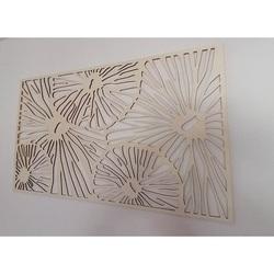 Abstraktný obraz na stenu z preglejky 3D efekt SAMUEL