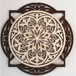 Obraz na zeď z dřevěné překližky přední část topol orginál, barva zadní části obrazu dle výběru