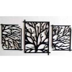 Pútavý drevený obraz na stenu strom - konáre  KERKERR