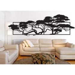 Elegantný obraz z preglejky v prevedení stromov 3D POMPEZII