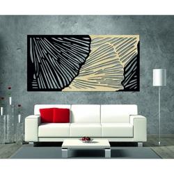 Vkusný 3D obraz na stenu z preglejky zadná časť Topoľ originál, farba prednej časti podľa výberu