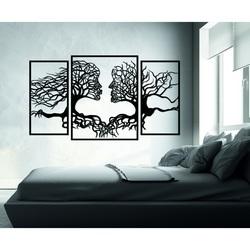 Pompézny obraz na stenu tváre a stromy