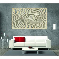 Kúzelný obraz na stenu z drevenej preglejky