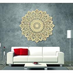 Kúzelný obraz na stenu z drevenej preglejky mandala