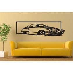 Exkluzívny obraz na stenu auto z drevenej preglejky história