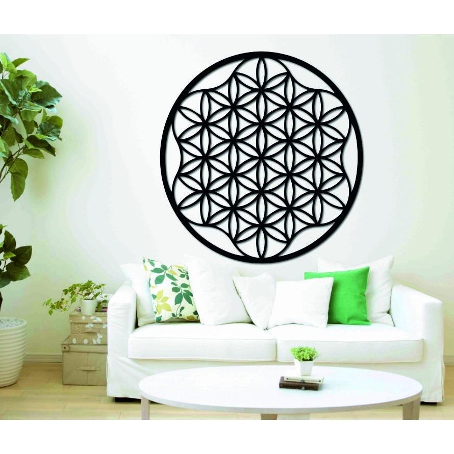 Obraz mandala na stenu z preglejky do 120 cm