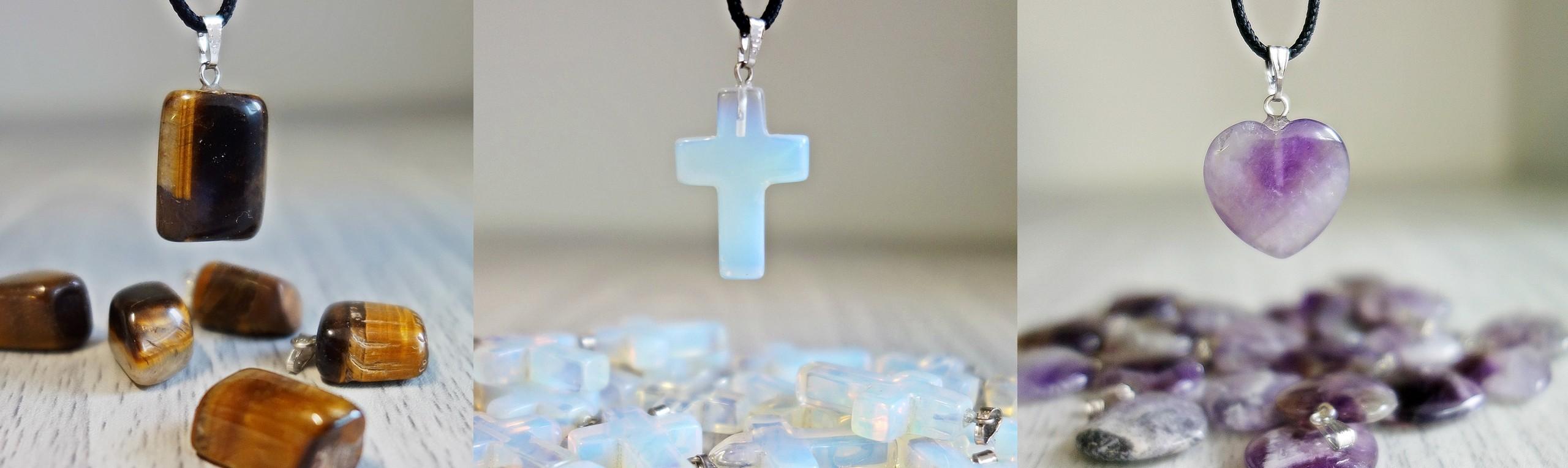 Náhrdelníky z polodrahokamov, mineral, liečiví, kameň, šperky pre Vás